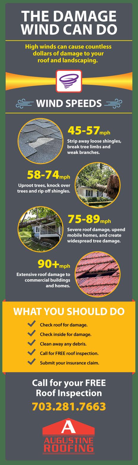 Wind Damage Infographic